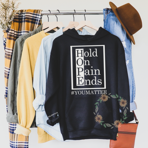 Hold On Pain Ends Hoodie