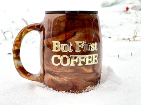 But Coffee First Coffee Mug Tumbler