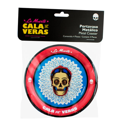 KIT DE 4 PORTAVASOS FRIDA
