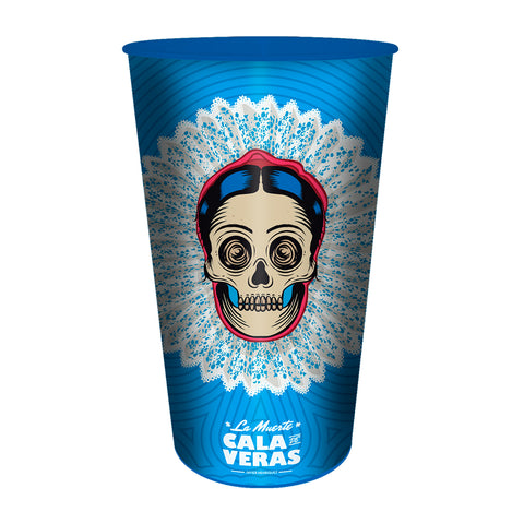 KIT DE 4 VASOS DE 32 OZ - DISEÑO FRIDA