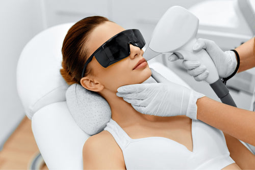 Laser Hair Removal - Upper lip, chin {8 treatments}