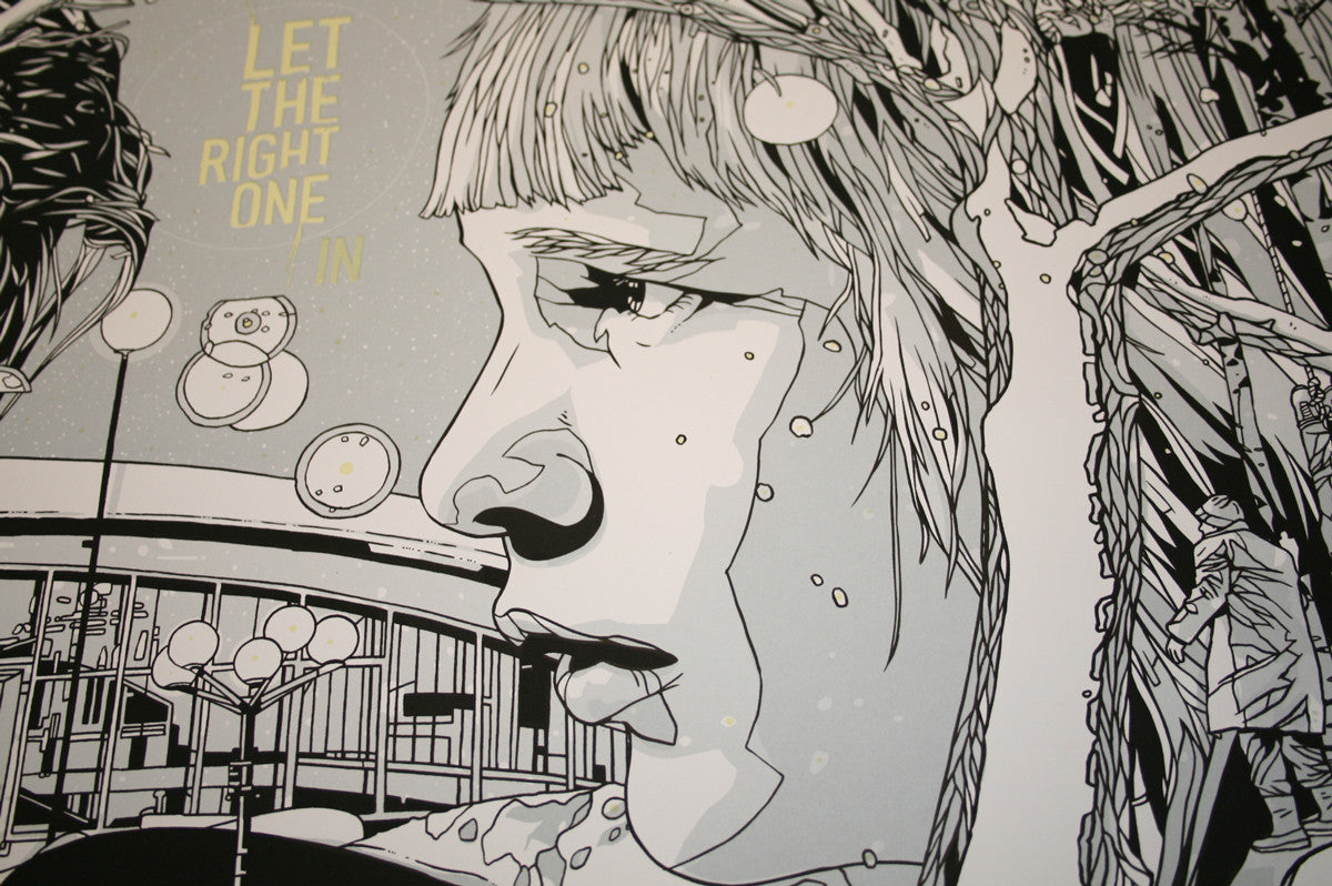 LET THE RIGHT ONE IN by AllCity x Tyler Stout