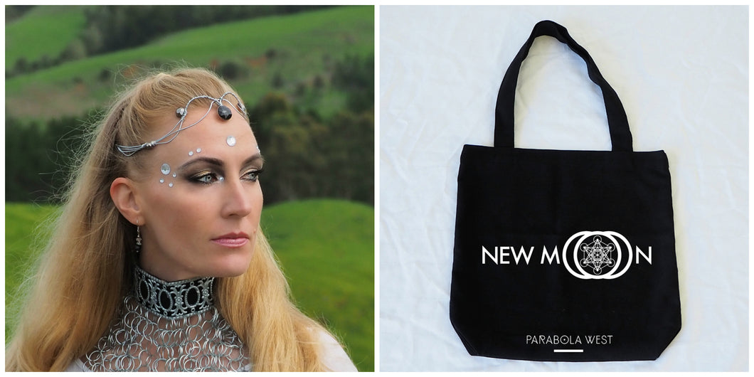 Exclusive 'New Moon' Headpiece + Limited Edition Tote Bag