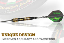 Load image into Gallery viewer, Professional Darts Set with Aluminum Shafts and Flights + Dart Sharpener + Innovative Case (24g Poison Arrow)