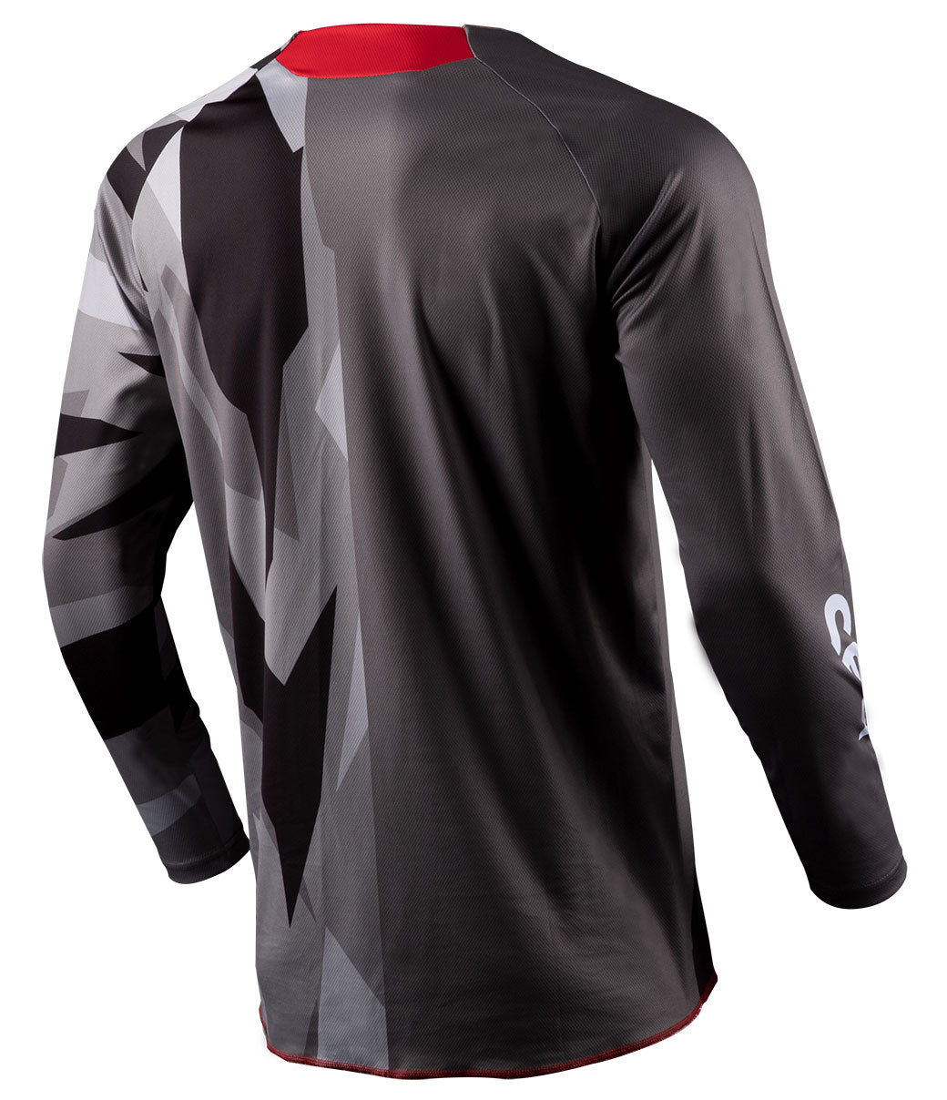 Youth Annex Bortz Jersey - Black/Gray
