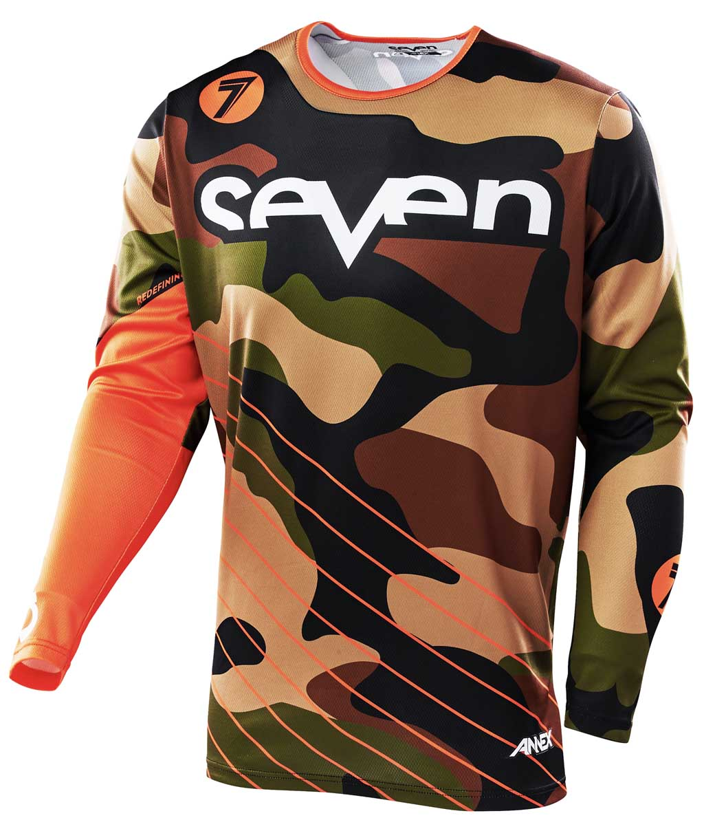 Annex Soldier Jersey - Orange