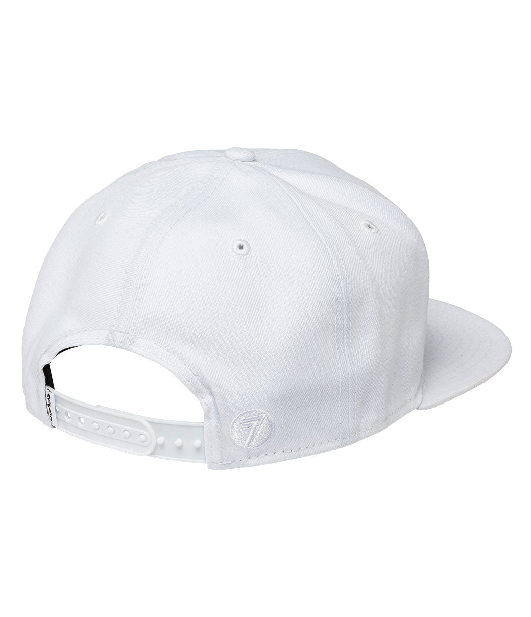 Badge Hat - White