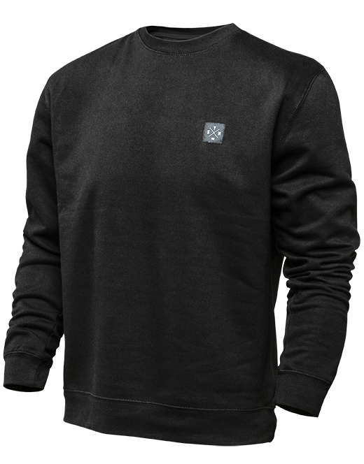 Benchmark Crew Neck - Black