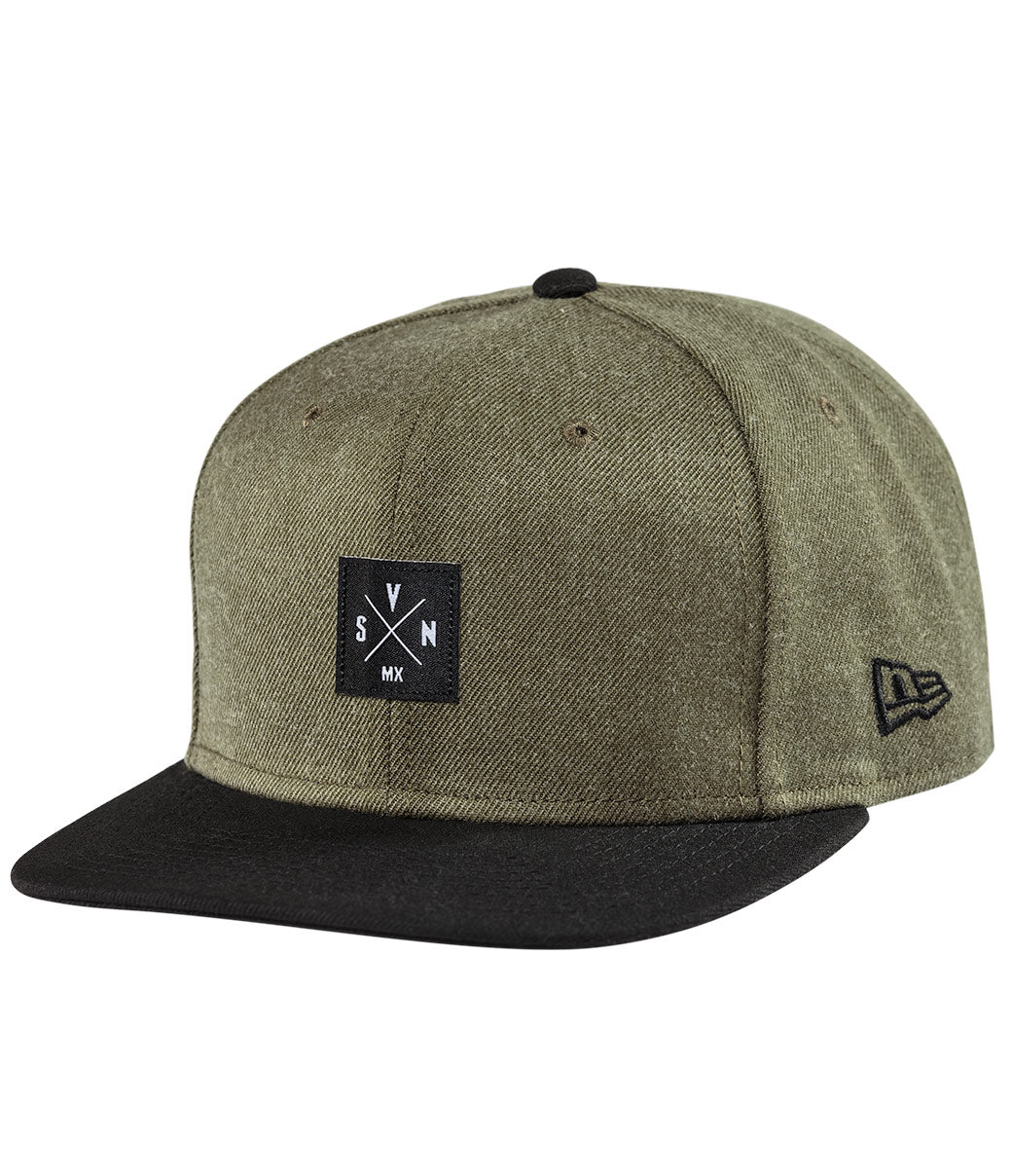 Benchmark Hat - Heather Army