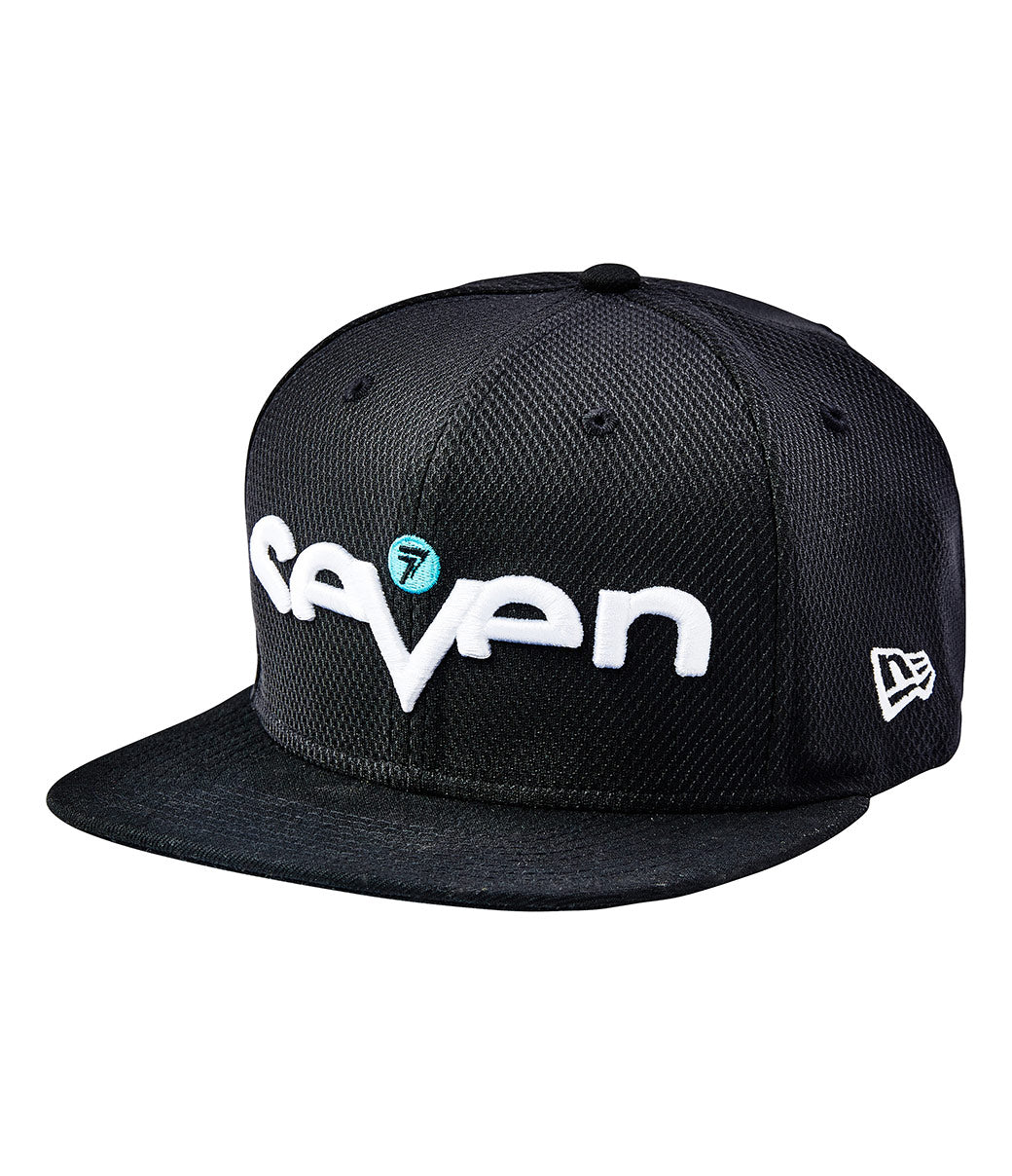 Youth Brand Hat - Black/Aqua