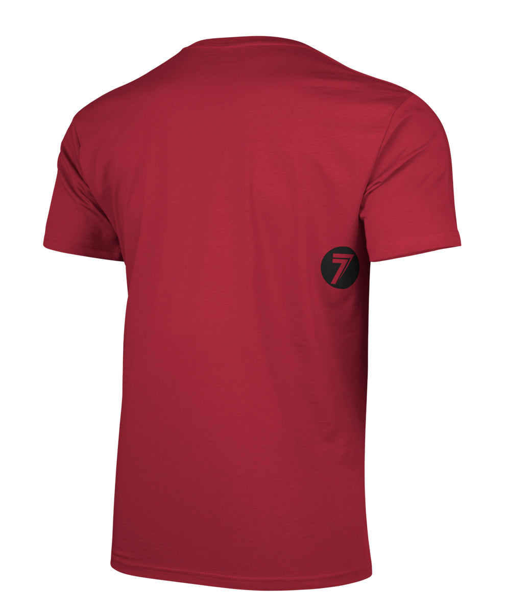 BRAND TEE RED