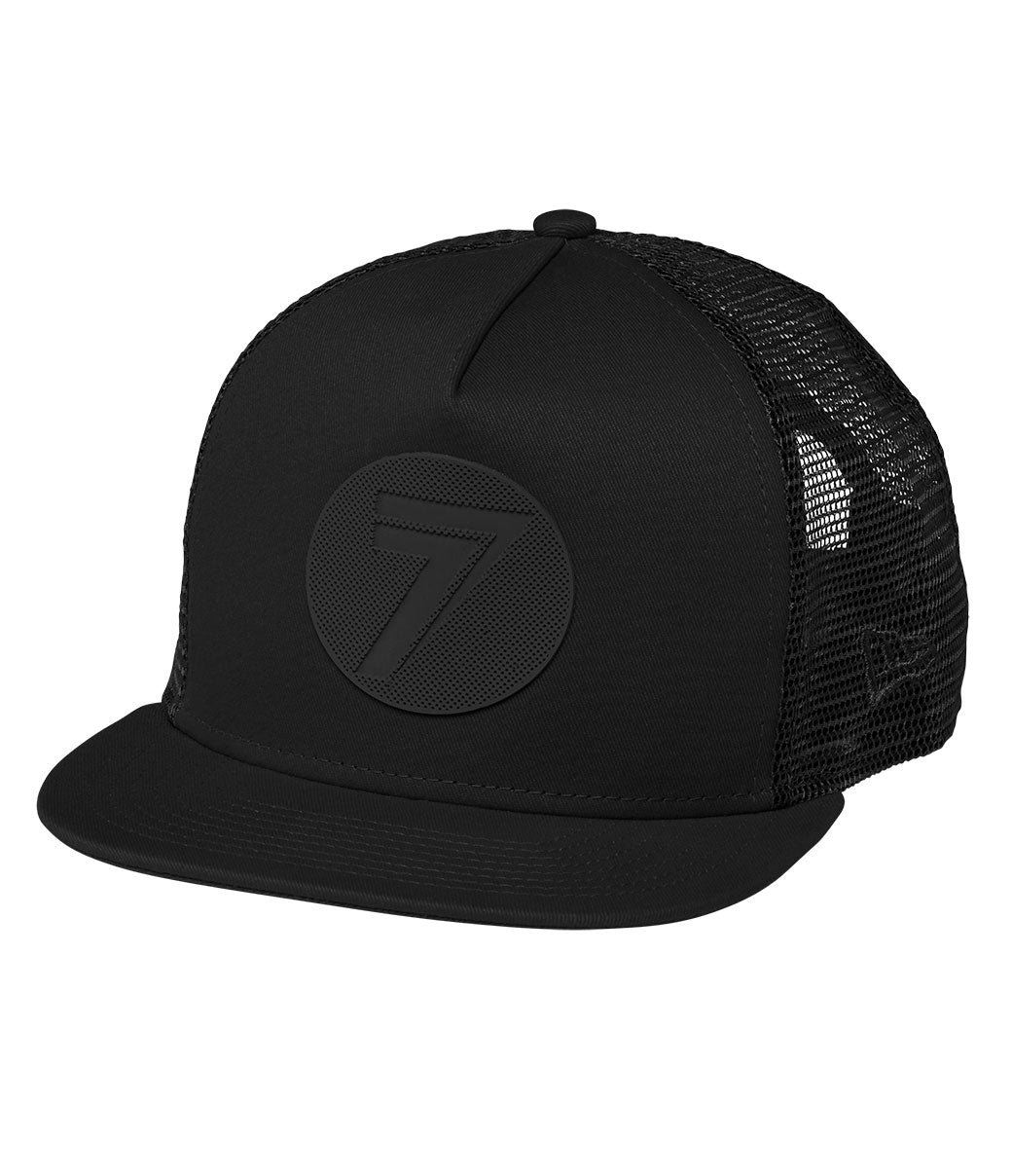 Youth Dot Hat - Black/Black