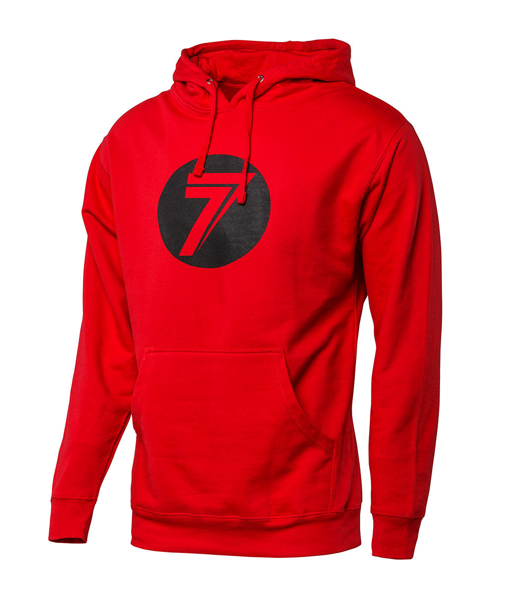 Youth Dot Hoodie - Red