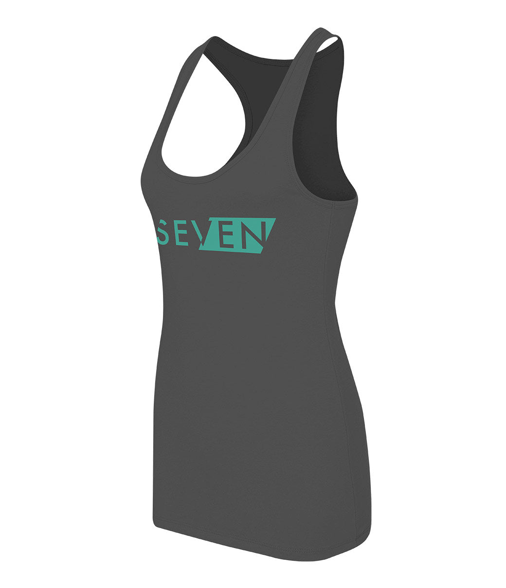 District Tank - Womens - Charcoal