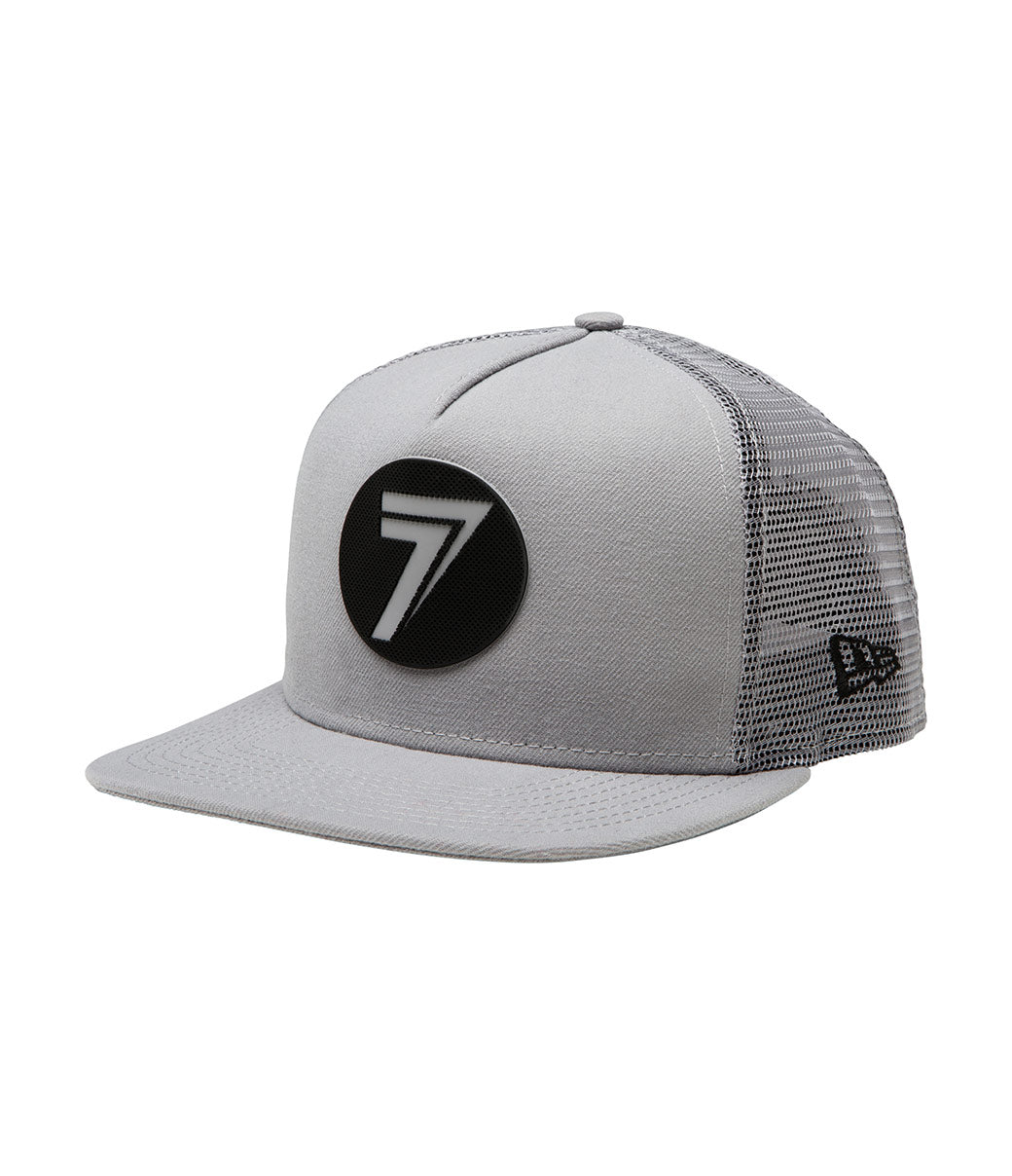 Dot Hat - Gray/Black