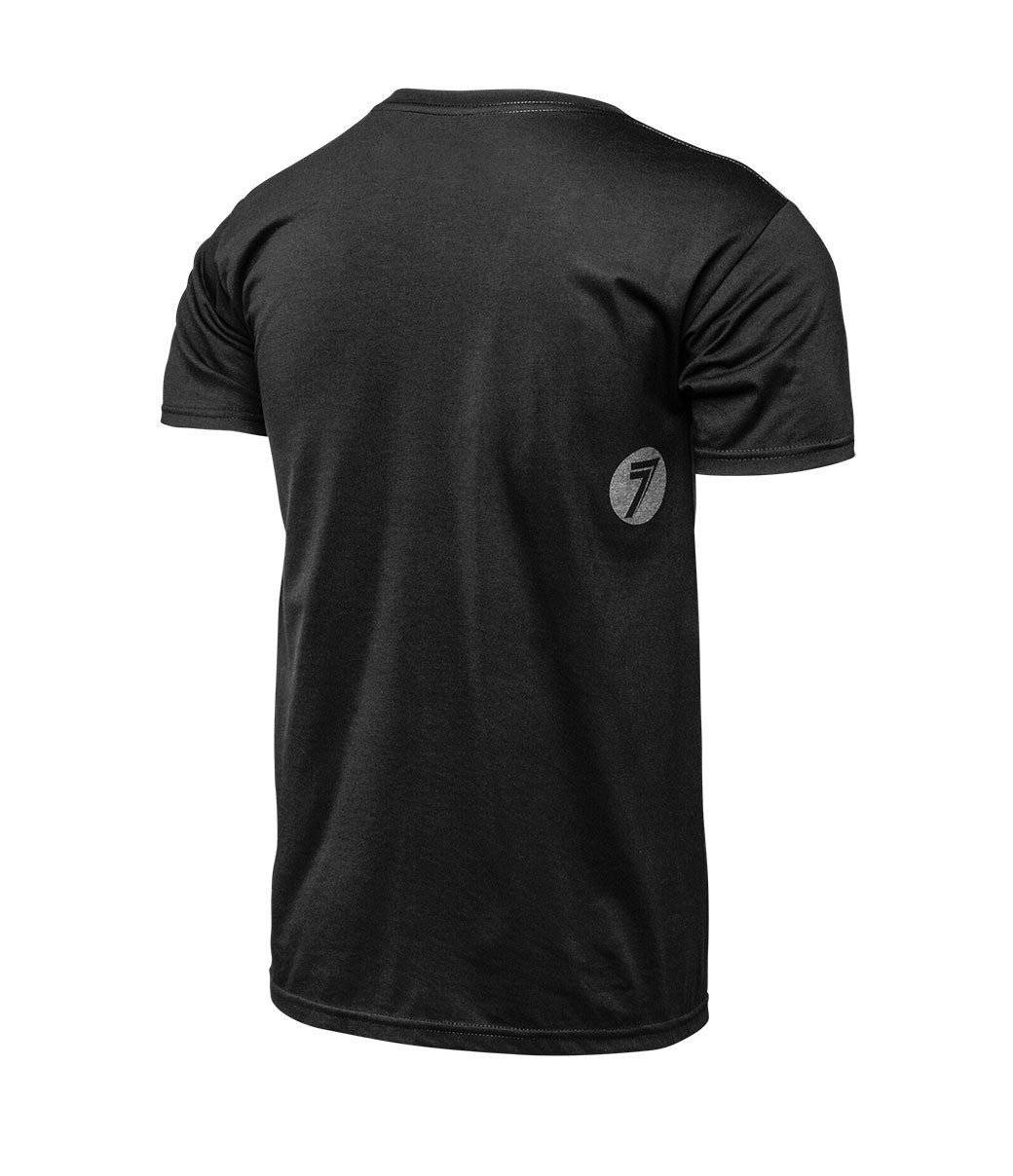 Escutcheon Tee - Black Heather
