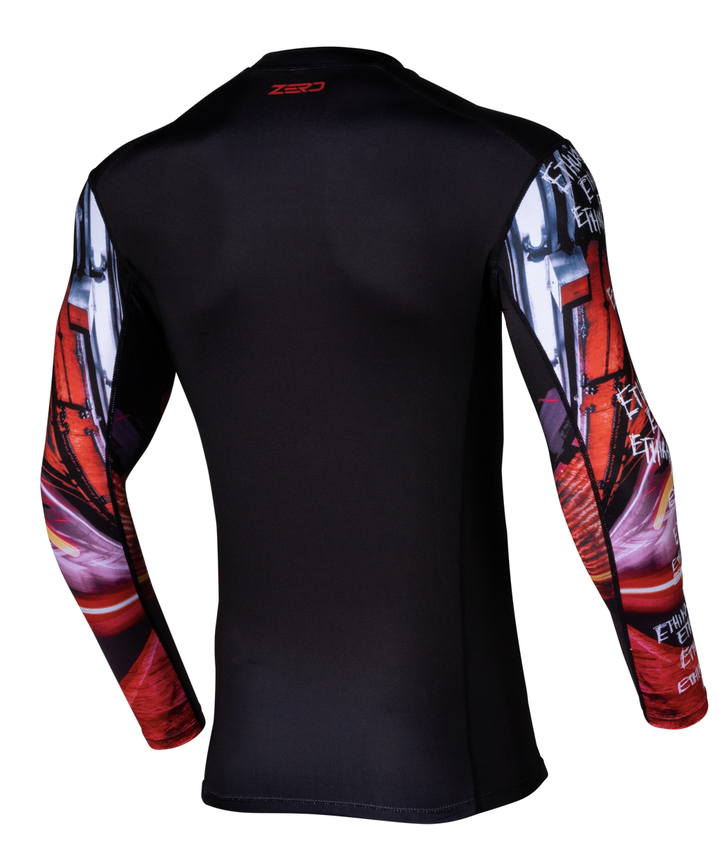Ethika Compression Jersey - Red