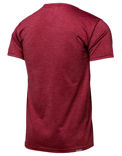 Futura Tee - Burgundy Heather