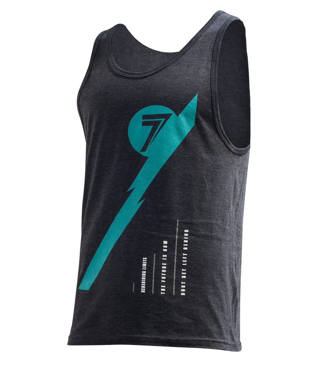 Fusion Tank - Charcoal Heather