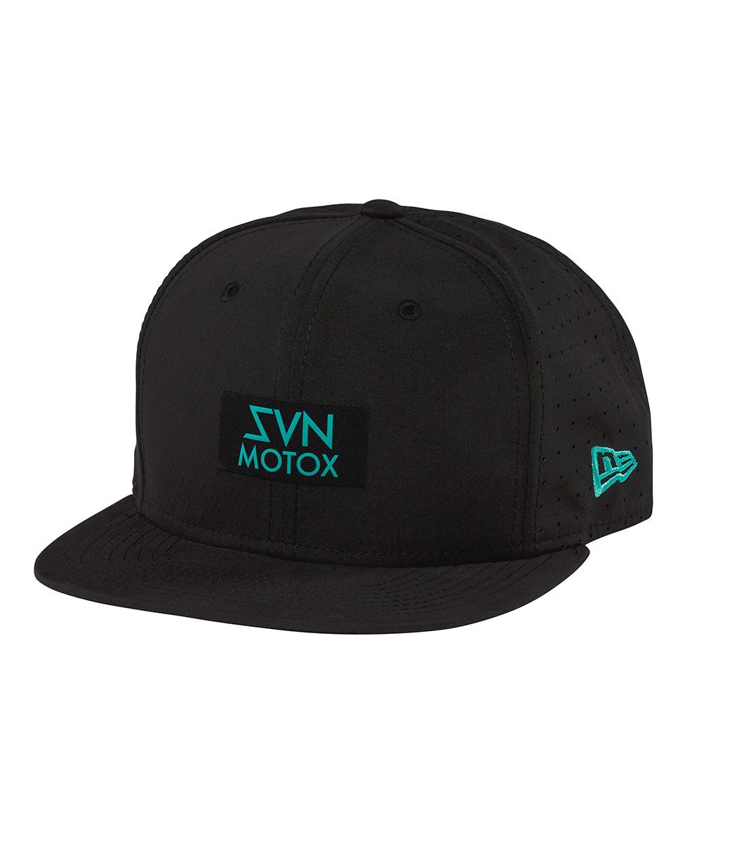 MX Futura Hat - Black/Aqua
