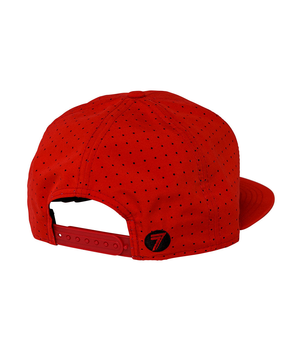 MX Futura Hat - Red/Black