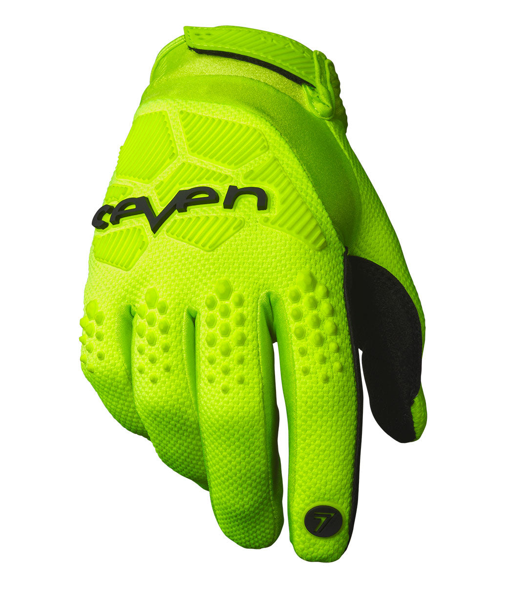 Rival Gloves - Flo Yellow