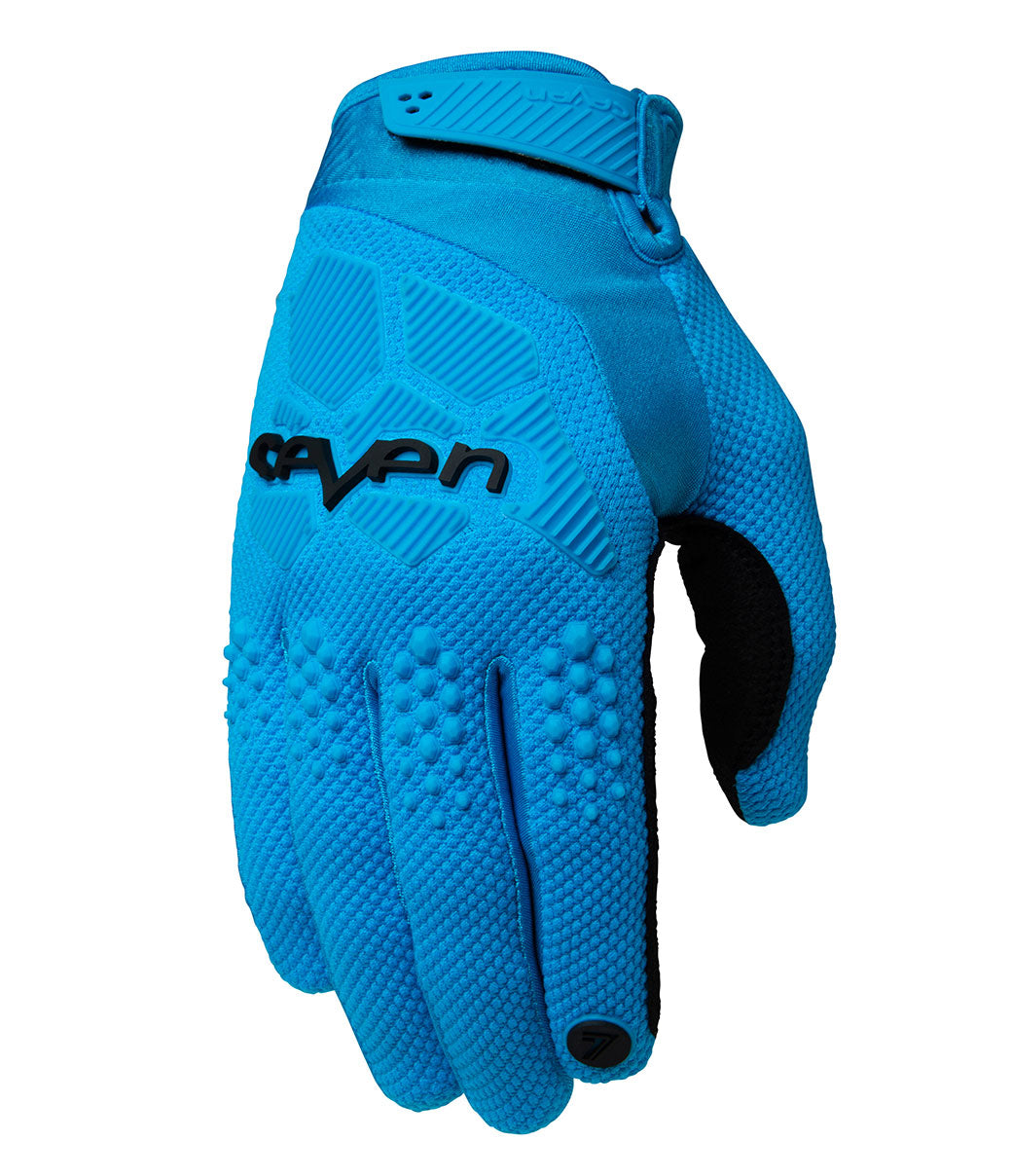 Youth Rival Gloves - Cyan