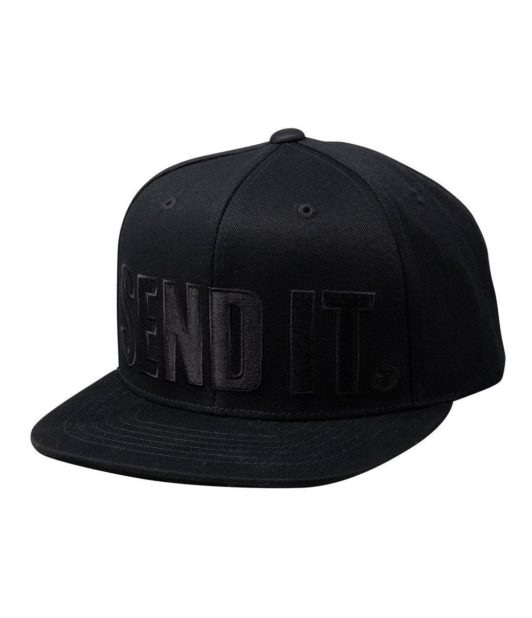 Send It Hat - Black/Black