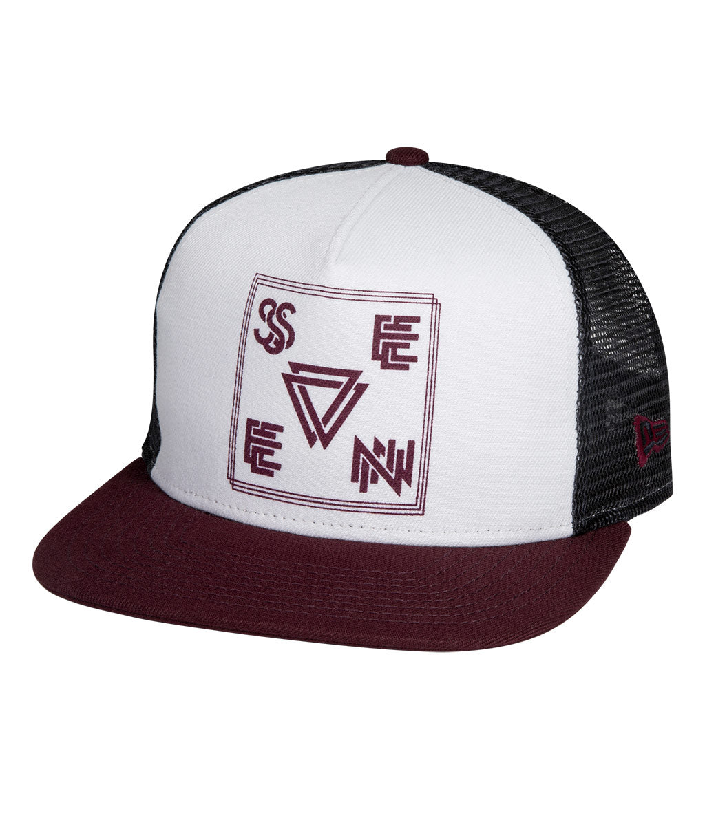 Vector Hat - White/Steel