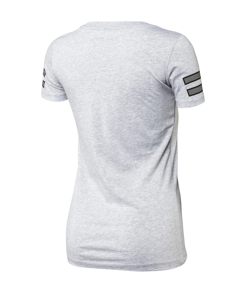 WMNS Athletic Tee - Heather Gray
