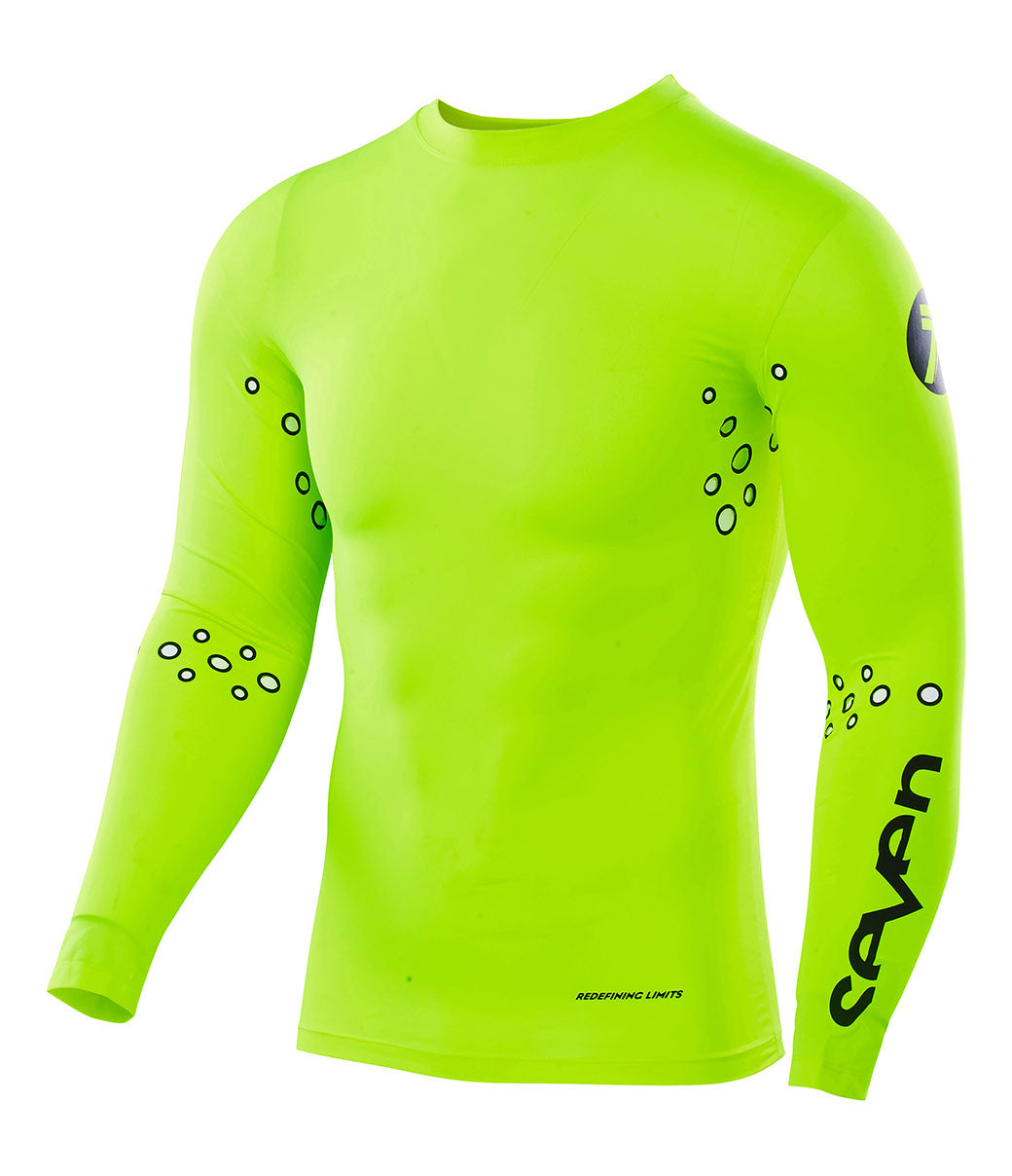 Zero Laser Cut Compression Jersey - Flow Yellow