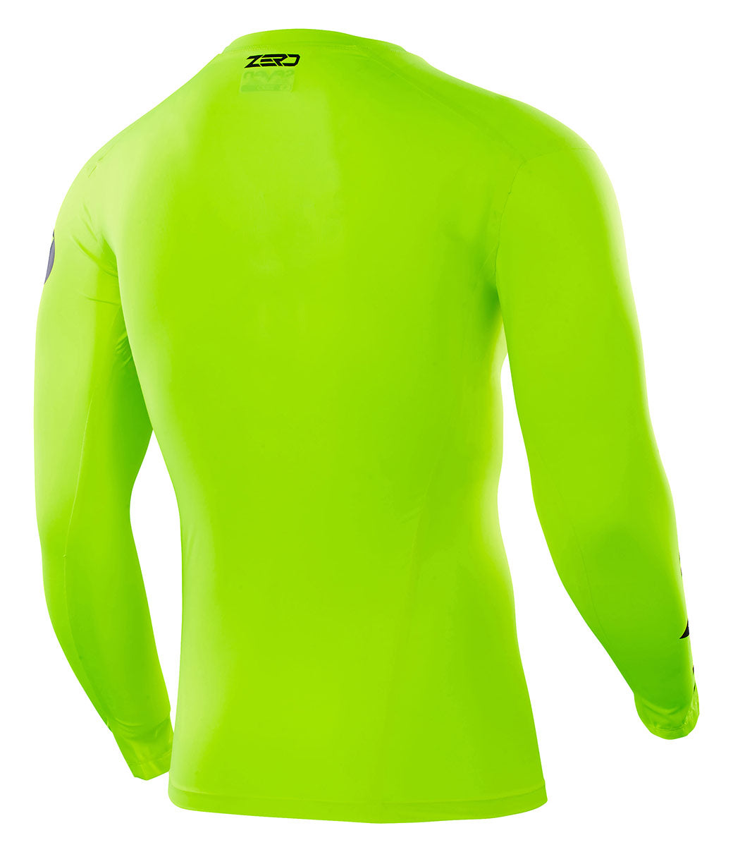 Flow Yellow, XL Seven Mens Zero Blade Compression Jersey