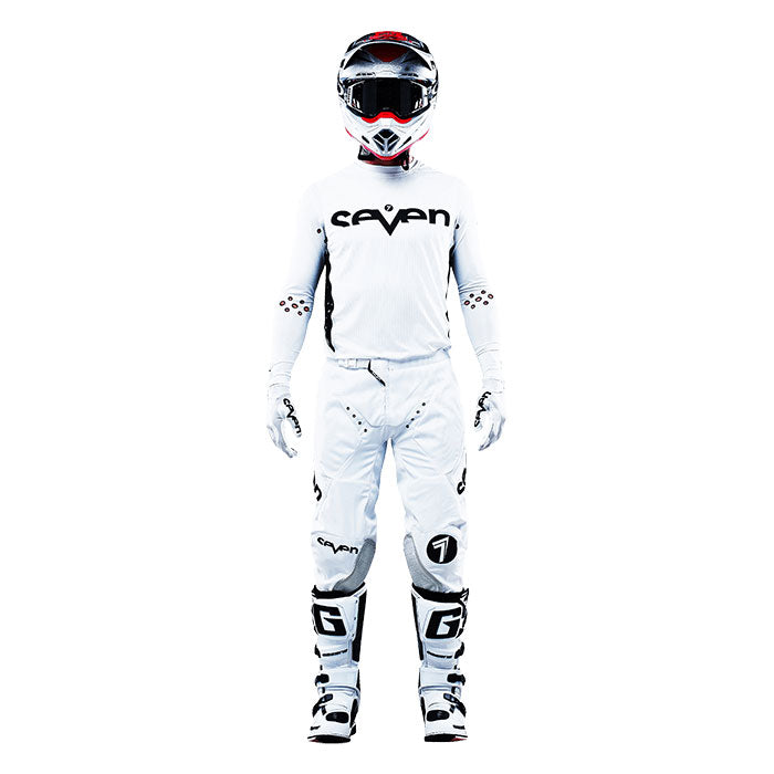 Zero Staple Compression Jersey - White