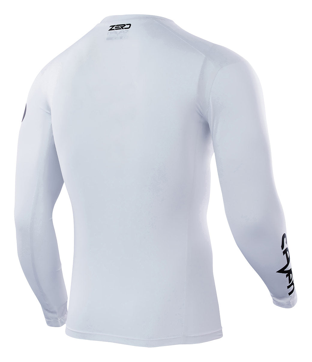 Youth Zero Staple Compression Jersey - White