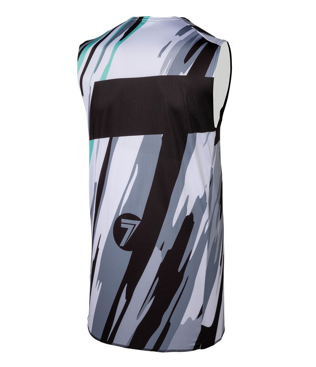 Zero Blur Camo Over Jersey - White