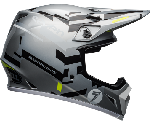MX-9 MIPS SVN Equalizer Helmet - Grey/Black