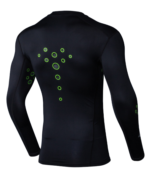 Zero Slay Laser Cut Compression Jersey - Black