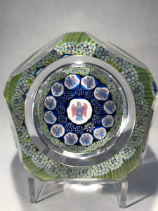 Whitefriars Christmas Series First in series 1975 Host of Angels Paperweight