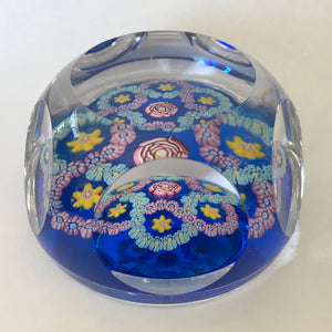 Whitefriars Smithsonian 1978 Clichy Rose miniature Paperweight