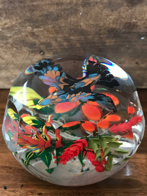 Mikael Hingant Tropical Bird Paperweight