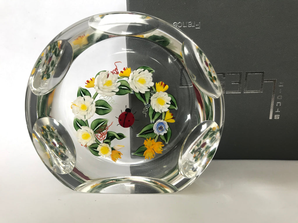 Richard Loesel Plaque paperweight