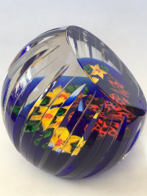 "Whitefriars Caithness ""Spoilt for Choice"" paperweight LE 11/50"