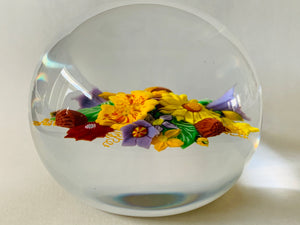 Richard Loesel Bouquet Paperweight