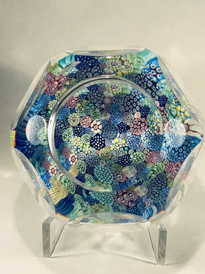 Whitefriars Multicolor Closepack paperweight