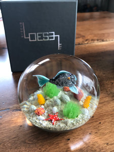 Richard Loesel Fish Paperweight 2020