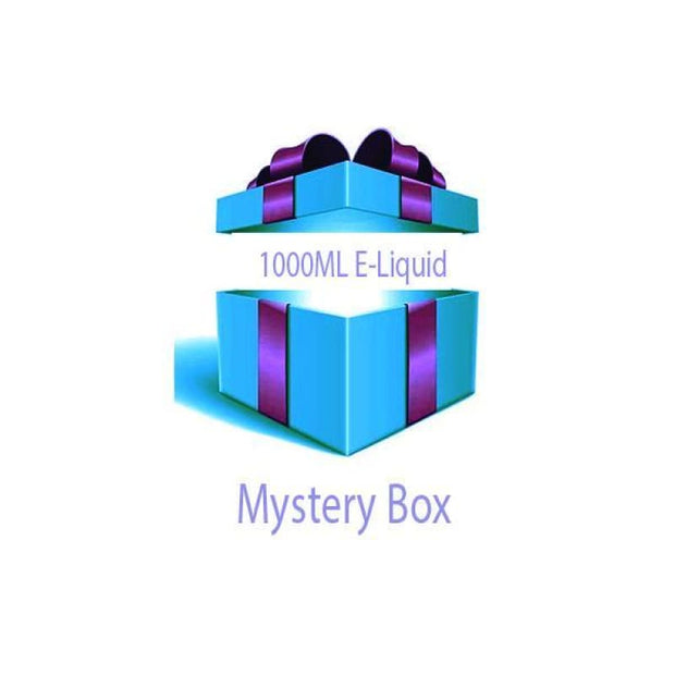 1000ml E-liquid MYSTERY BOX + Nic Shots - Vaping Products