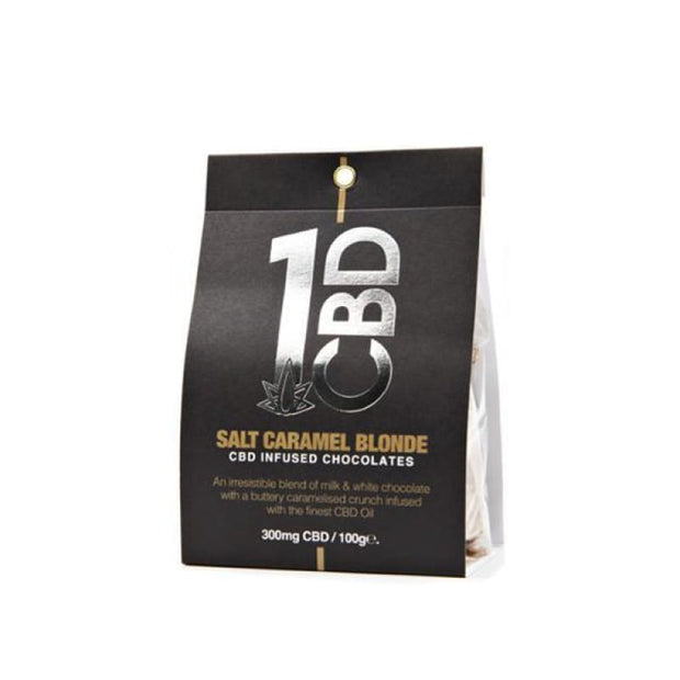 1CBD CBD infused Chocolate 300mg CBD 100g - CBD Products