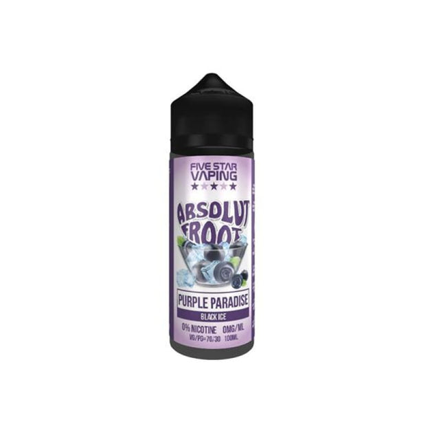 Absolut Froot by V-Juice 0mg 100ml Shortfill (70VG/30PG) -