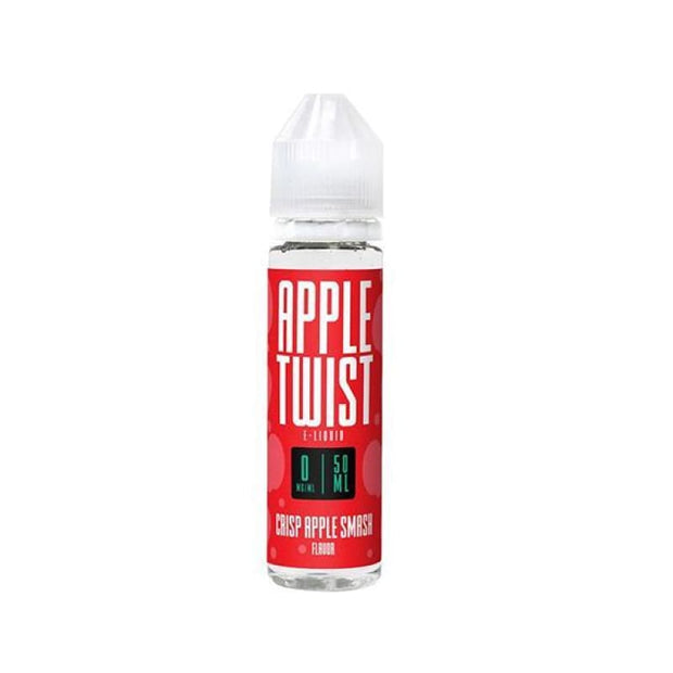 Apple Twist 0mg 50ml Shortfill E-Liquid (70VG-30PG) - Vaping