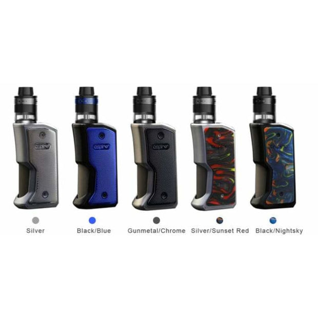Aspire Feedlink Revvo Squonk Mod - Stainless Steel